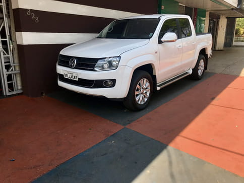 AMAROK 2.0 HIGHLINE 4X4 CD 16V TURBO INTERCOOLER DIESEL 4P AUT 2014 DIESEL