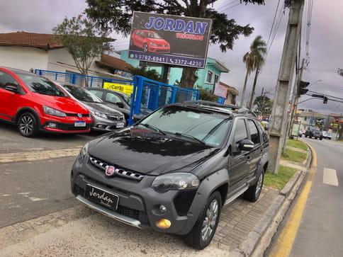 FIAT PALIO WEEKEND(N.VERSAO) ADVENTURE 1.8 8V (FLEX) 4P  COM