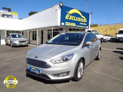 FORD FOCUS SEDAN TITANIUM 2.0 PLUS 16 V FLEX AUT.