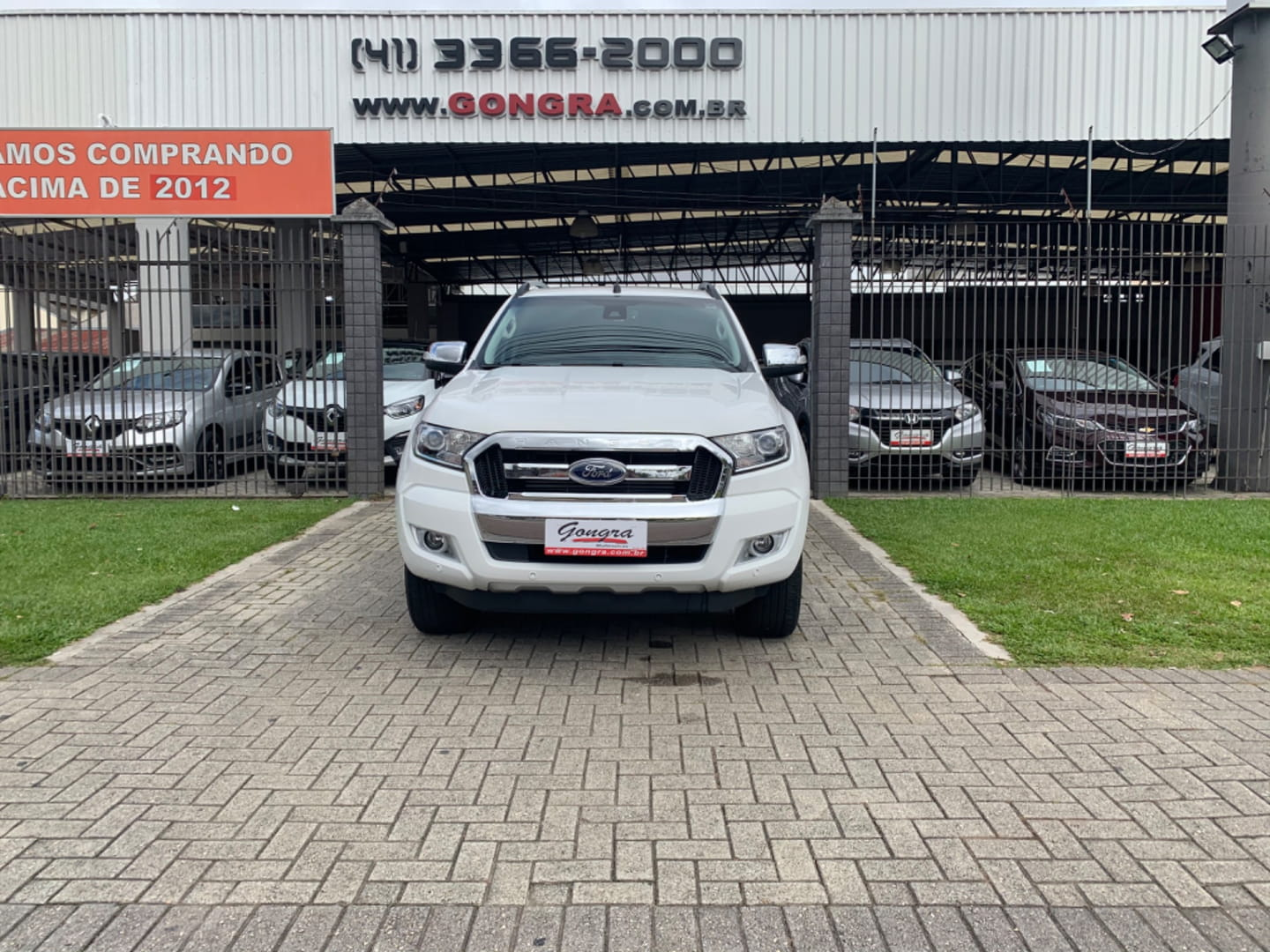 FORD RANGER LIMITED 3.2 4X4  CD AUT DIESEL