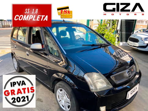 CHEVROLET MERIVA SS 1.8 8V FLEXPOWER 5P