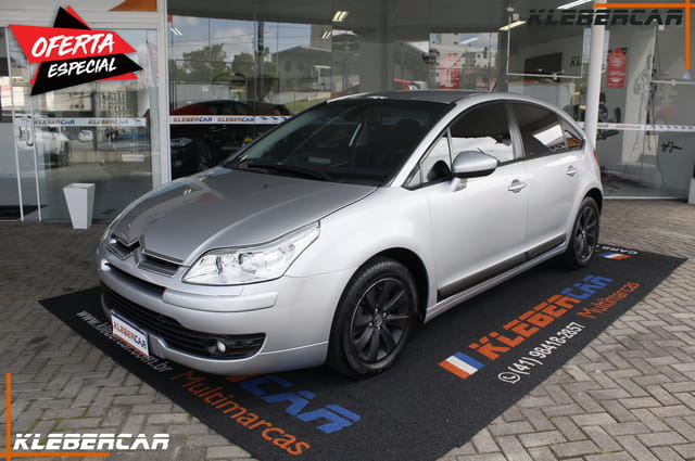 CITROEN C4 HATCH EXCLUSIVE 2.0 FLEX 16V 4P