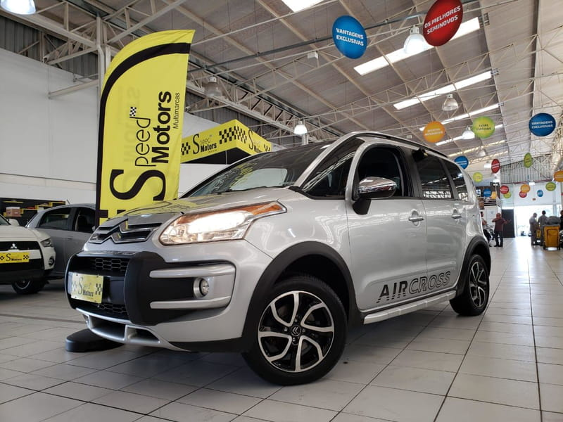 CITROEN AIRCROSS EXCLUSIVE 1.6 FLEX 16V 5P MEC.