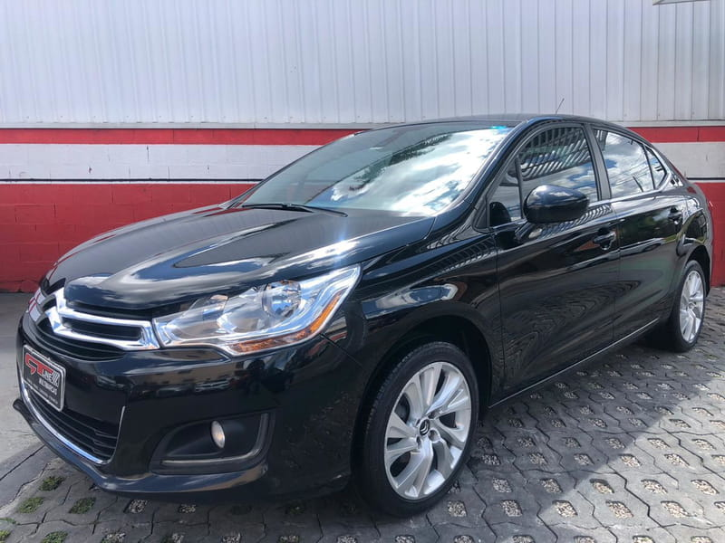 CITROEN C4 LOUNGE TENDANCE 2.0 FLEX 4P MEC