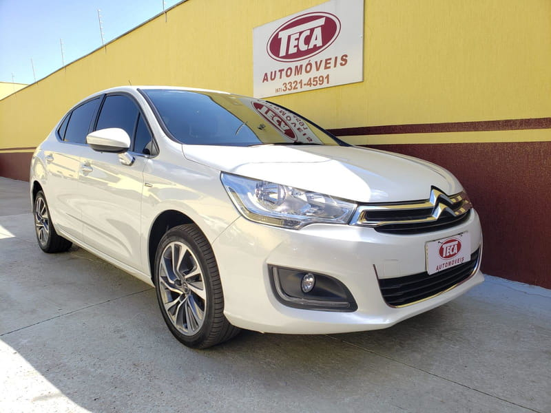 CITROEN C4 LOUNGE EXCLUSIVE 16V THP FLEX 4P