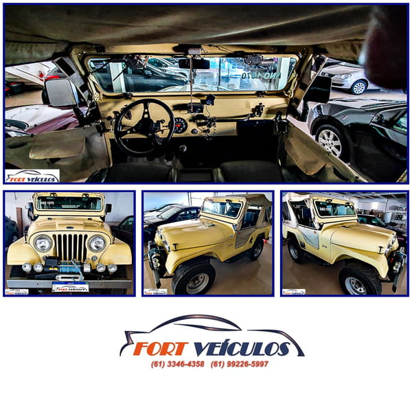 FORD JEEP WILLYS 4X4 2P