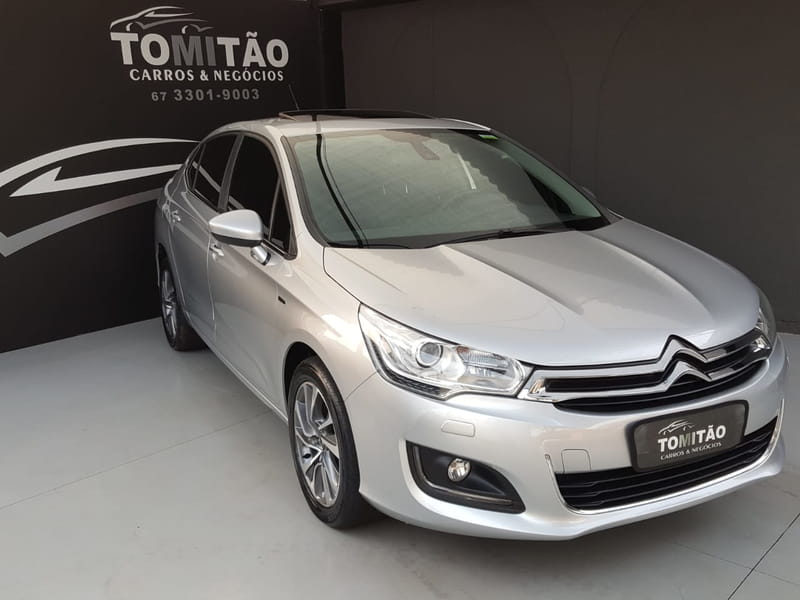 CITROEN C4 LOUNGE EXCLUSIVE 1.6 TURBO 4P AUT