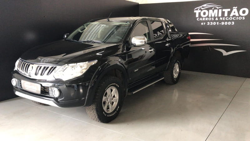 MITSUBISHI TRITON 2.4 16V TURBO DIESEL  SPORT HPE TOP 4P 4X4 AT