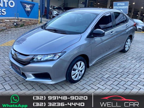 HONDA CITY DX 1.5 16V FLEX MEC.