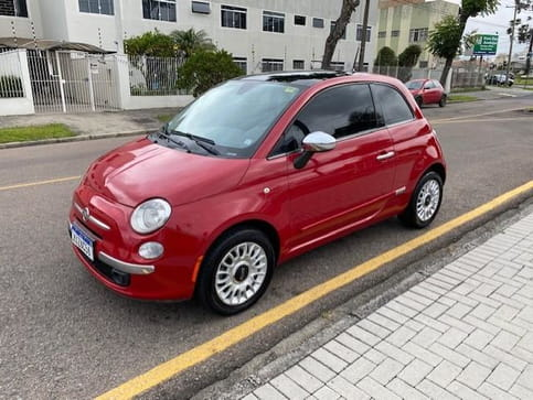 FIAT 500 LOUNGE AIR 1.4 (GAS) IMP AUT 2P