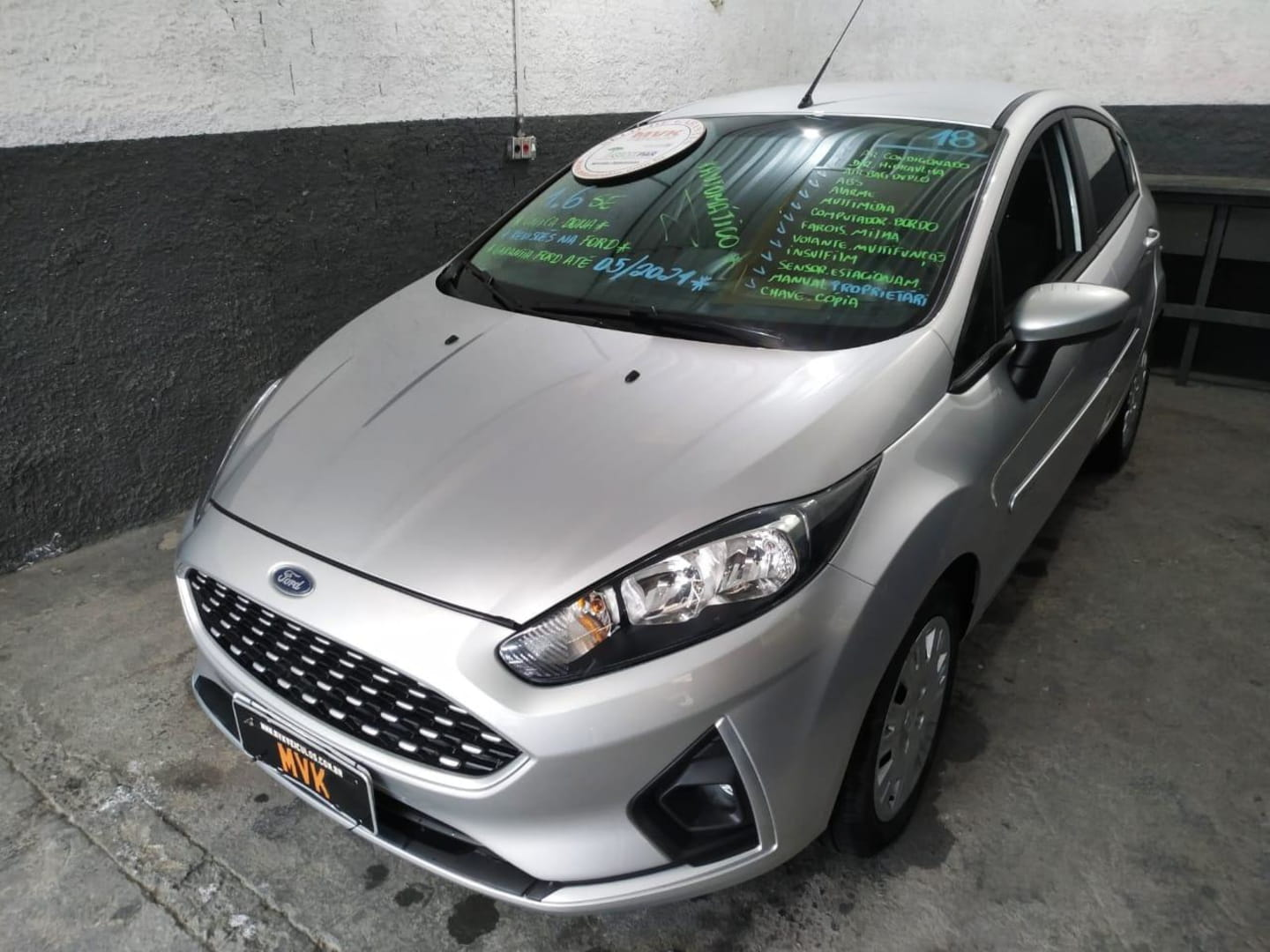 FORD NEW FIESTA 1.6 SE PLUS HATCH 16V FLEX 4P POWERSHIFT