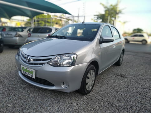 TOYOTA ETIOS 1.5 SD X 16V FLEX 4P MANUAL