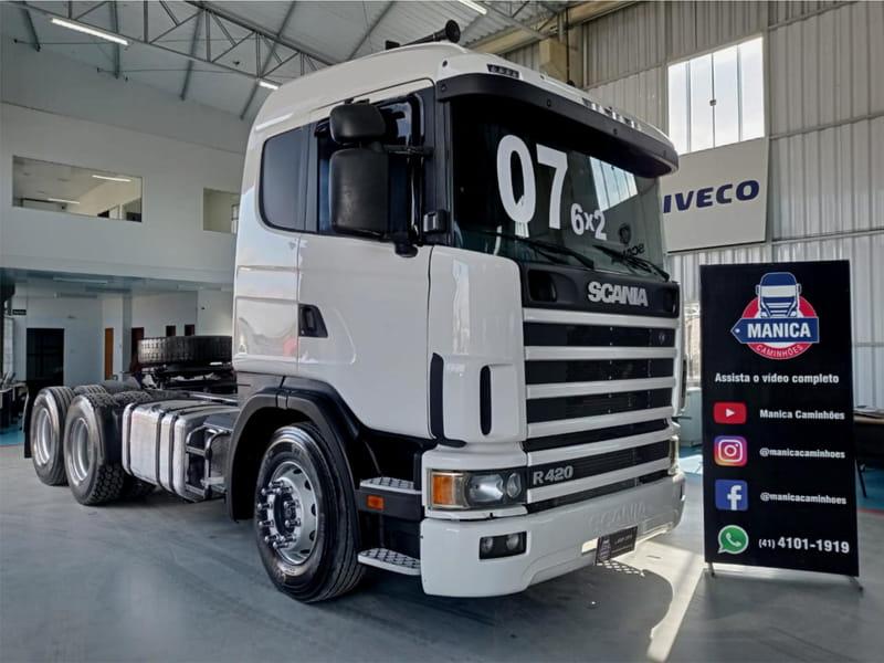 SCANIA R124 GA4X2NZ 420