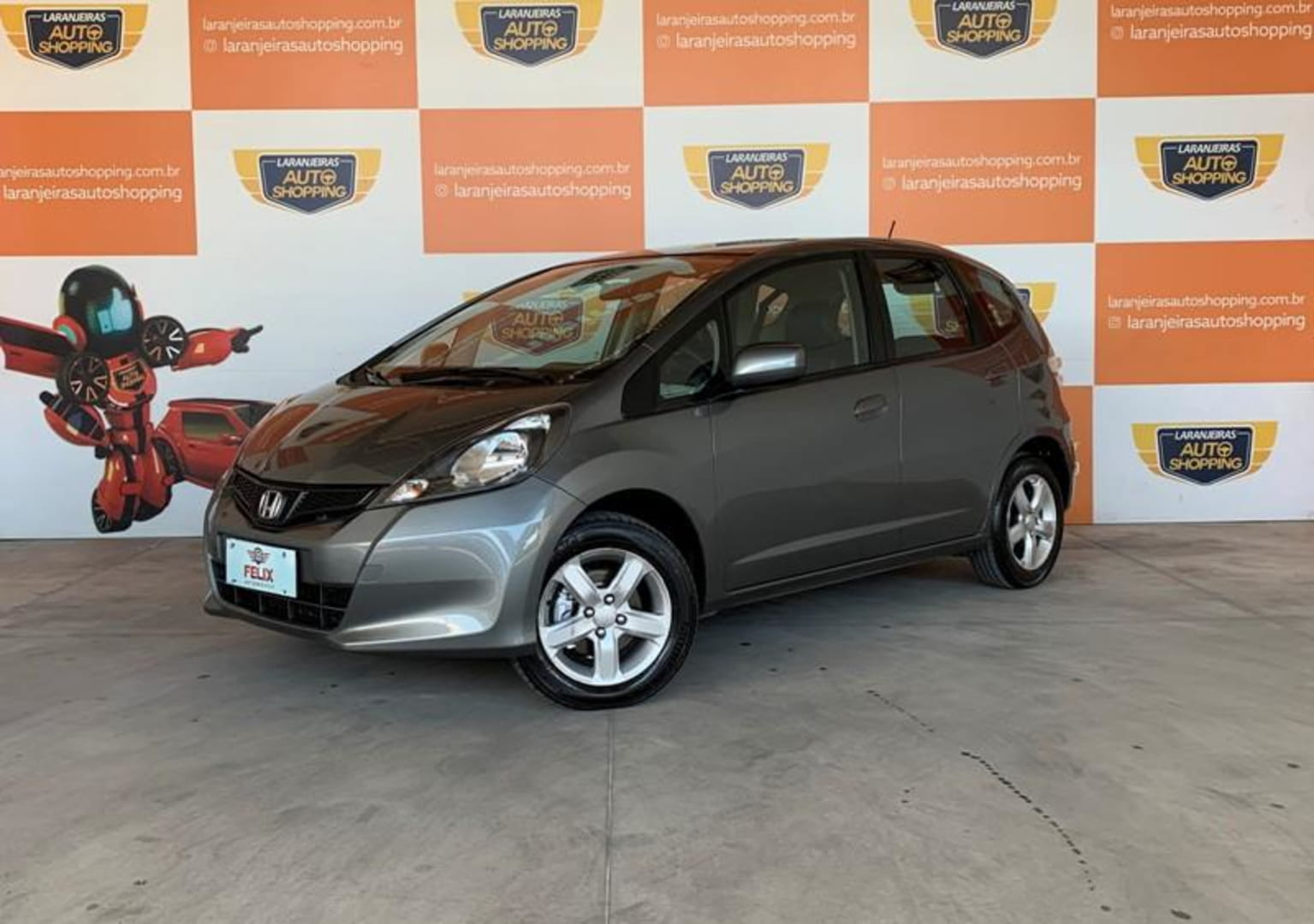 HONDA FIT CX 1.4 FLEX 16V 5P AUT.