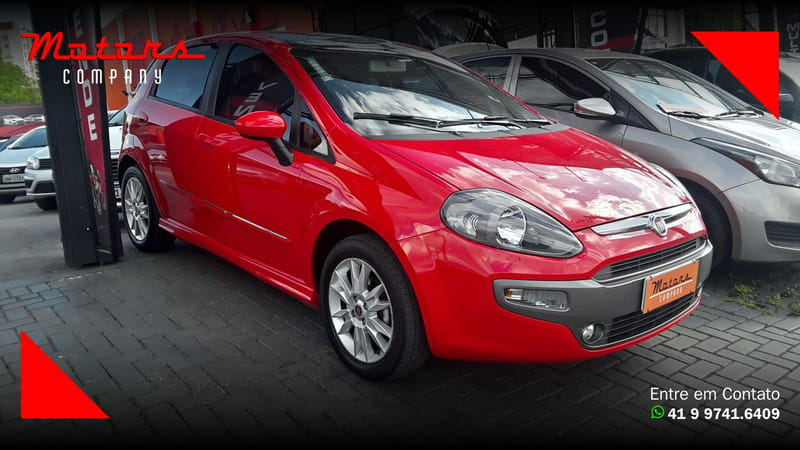 FIAT PUNTO SPORTING 1.8 16V FLEX MEC.
