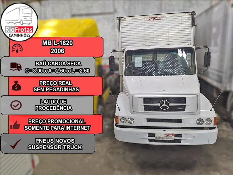 MERCEDES-BENZ L-1620 4X2 2P