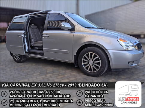 KIA CARNIVAL EX 3.8 V-6 24v(Aut.)4P  BlindadoN3