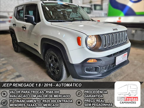 JEEP RENEGADE 1.8 16V FLEX 4P