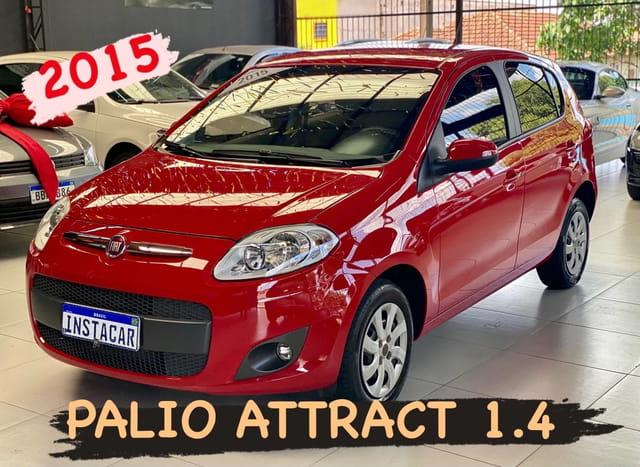 FIAT PALIO ATTRACTIVE 1.4 8V FLEX MEC.
