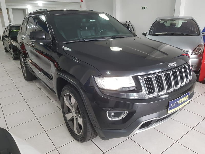 JEEP GRAND CHEROKEE 3.6 LTD 4X4 V6 24V GASOLINA 4P AUT