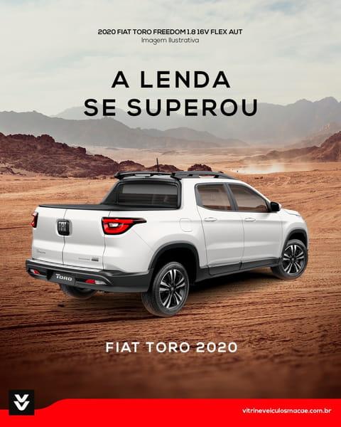 FIAT TORO FREEDOM 1.8 16V FLEX AUT