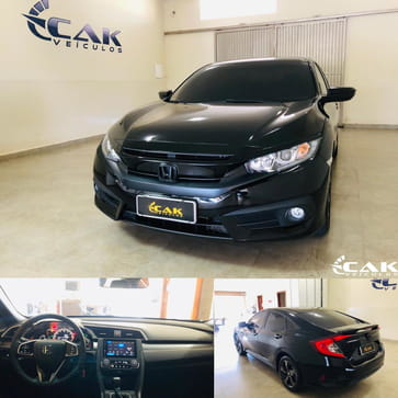 HONDA CIVIC 2.0 16V FLEXONE SPORT 4P MANUAL