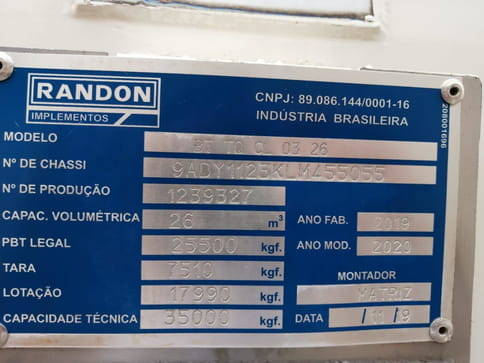 RANDON BT TANQUE