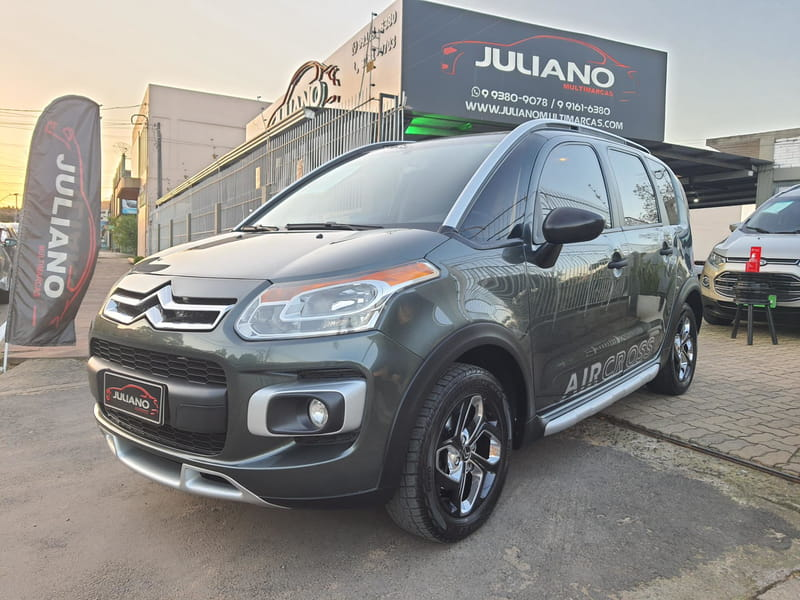 CITROEN AIRCROSS 1.6 GLX 16V FLEX 4P MANUAL