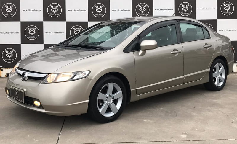 HONDA CIVIC SEDAN LXS-MT 1.8 16v