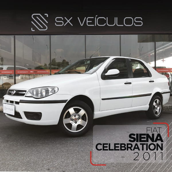 FIAT SIENA CELEBRATION 1.0 8V FIRE FLEX MEC.
