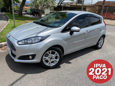 FORD NEW FIESTA 1.6 SEL HATCH 16V FLEX 4P MANUAL