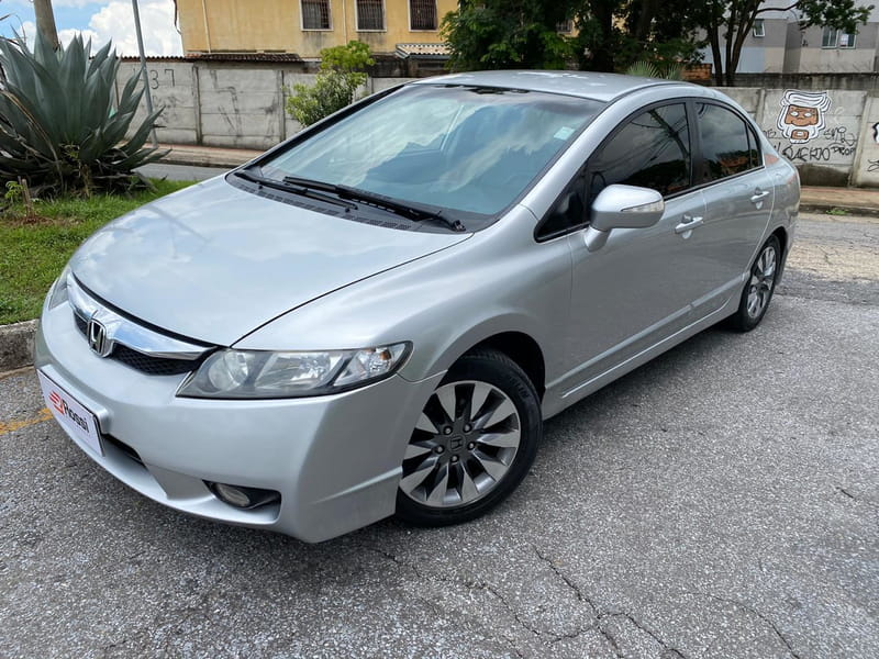 HONDA CIVIC LXL 1.8 16V FLEX MEC.