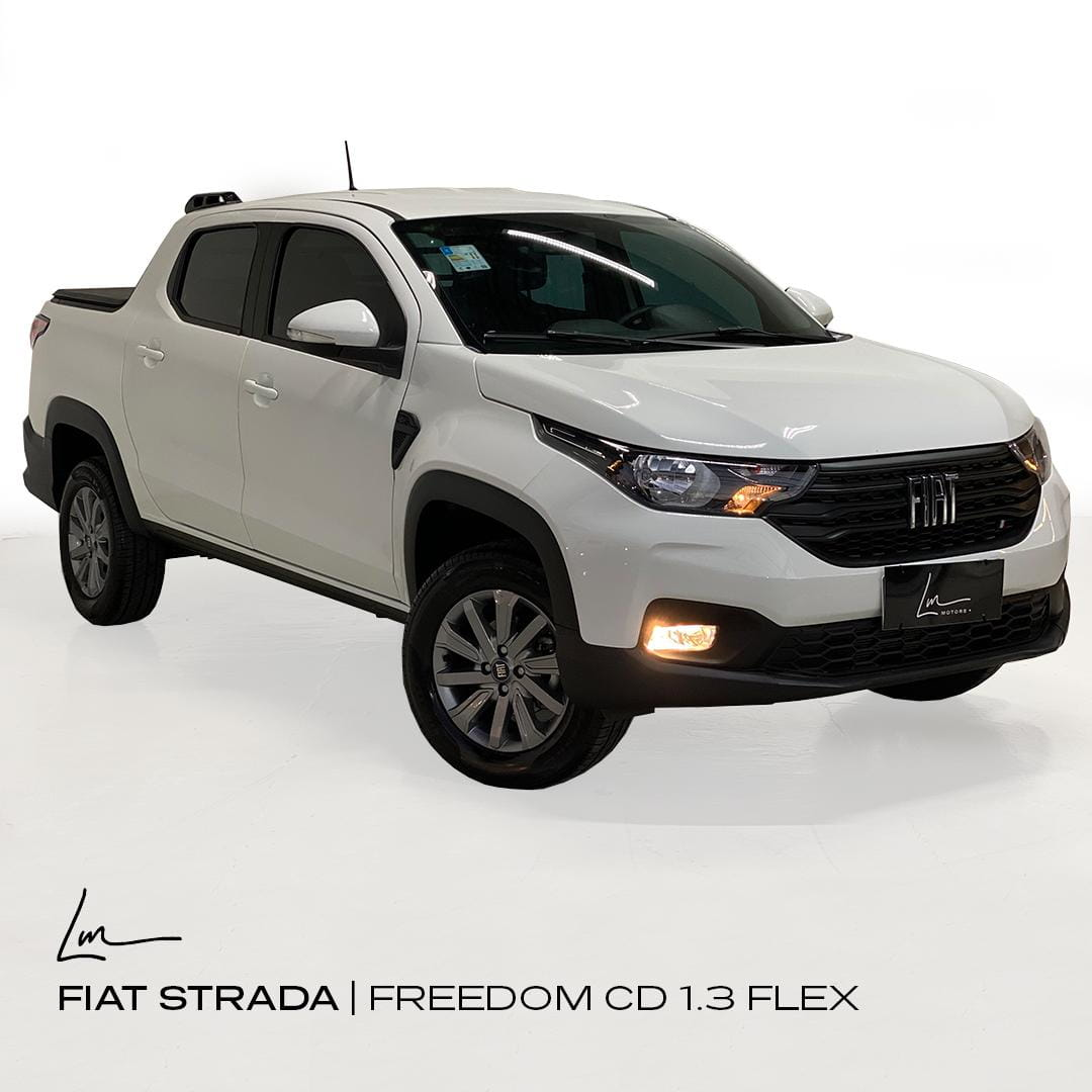 FIAT STRADA FREEDOM CD 1.3 FLEX MANUAL