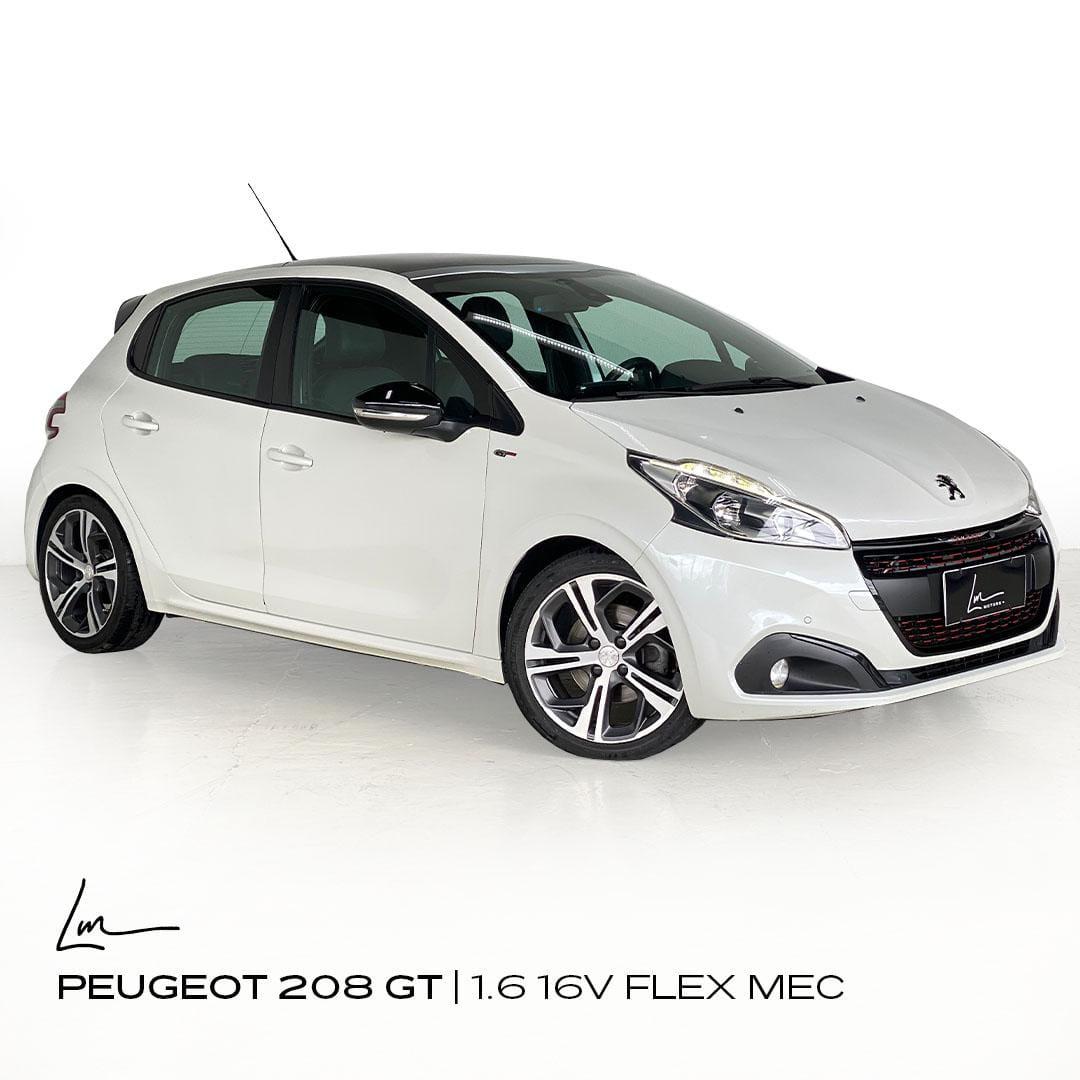 PEUGEOT 208 GT 1.6 16V FLEX 4P MEC