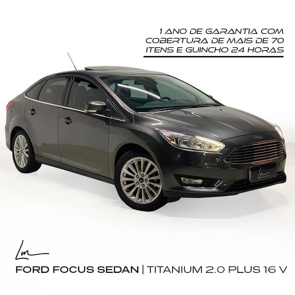 FORD FOCUS SEDAN TITANIUM 2.0 PLUS 16 V FLEX AUT.