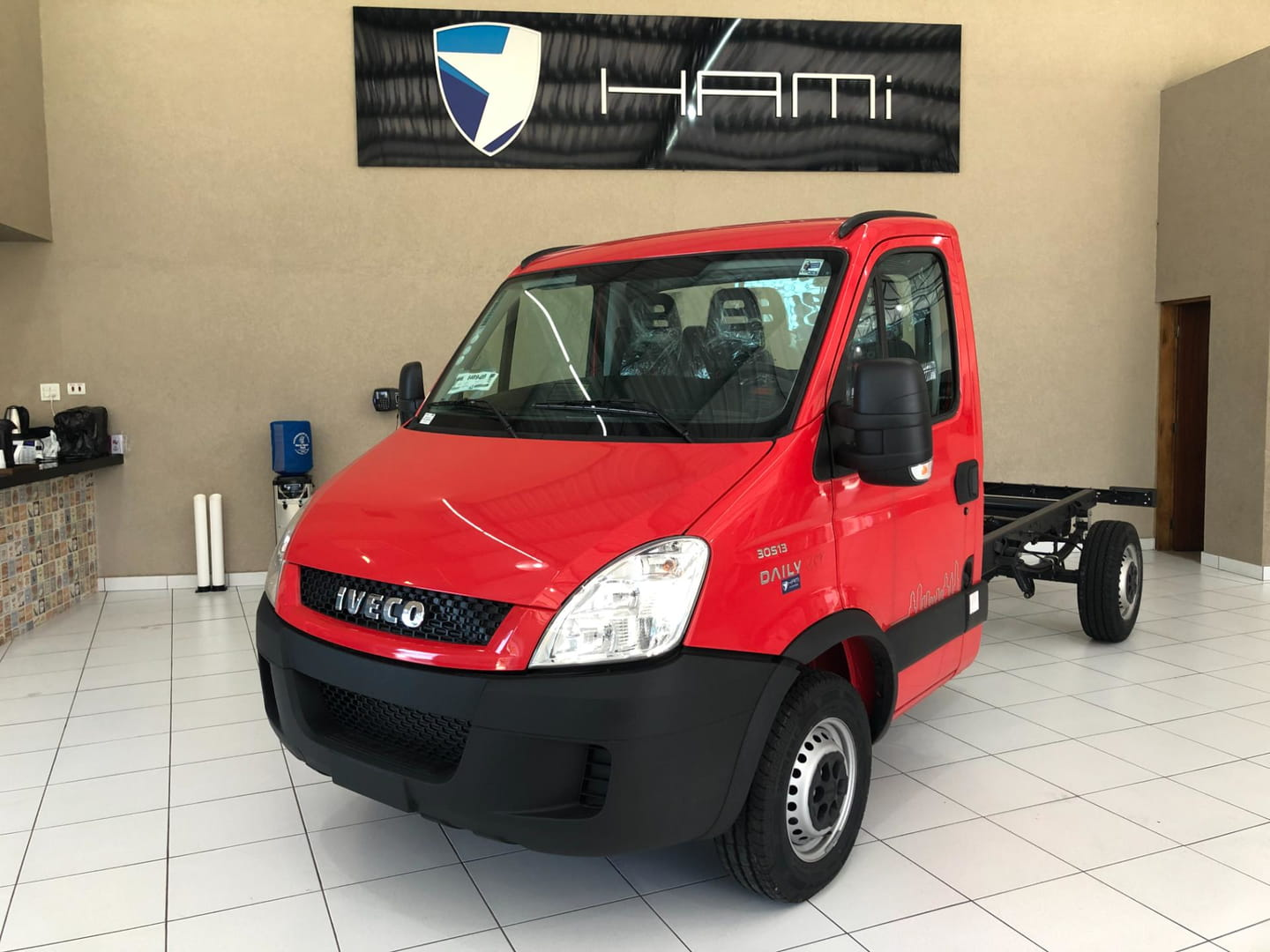 IVECO DAILY CITY 30S13 CHASSI CABINE