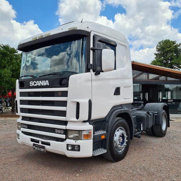 SCANIA R-124 GA 360 4x2 NZ 2P