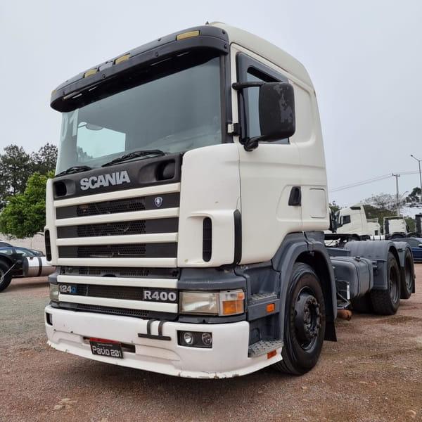 SCANIA R124 GA 400 6X2 3e NZ