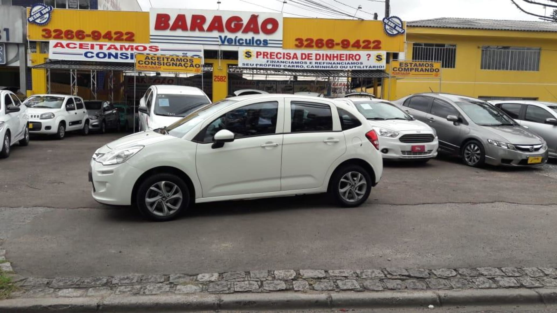 CITROEN C3 ORIGINE 1.5 FLEX 8V 5P