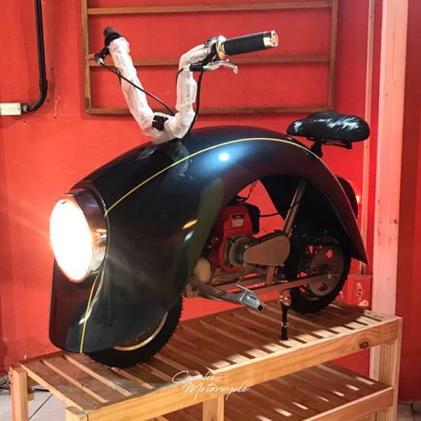 CAVALINI MOTORCYCLE LAMBRUSCA 49CC