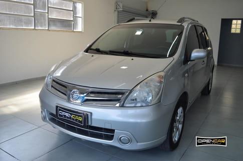 NISSAN LIVINA GRAND S 1.8 16V AUT.