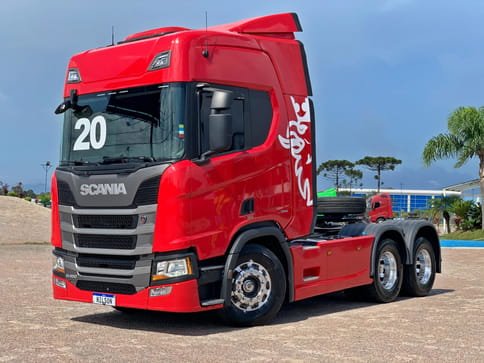 SCANIA R450 A6X2