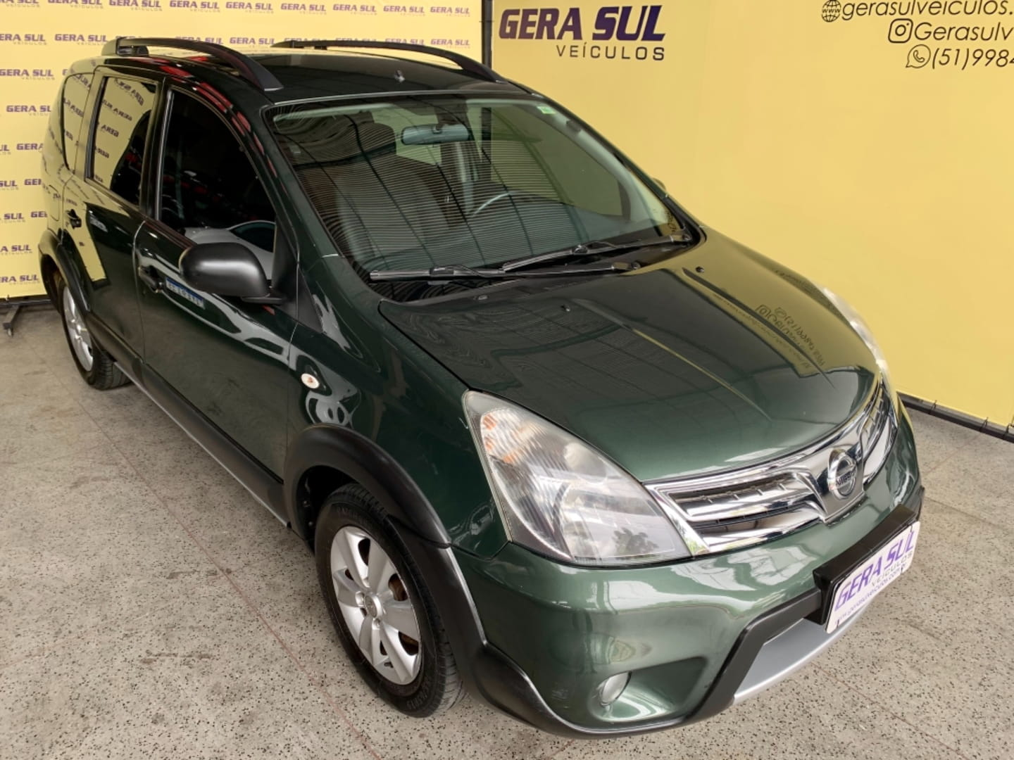 NISSAN LIVINA X-GEAR 1.6 MANUAL FLEX 4P