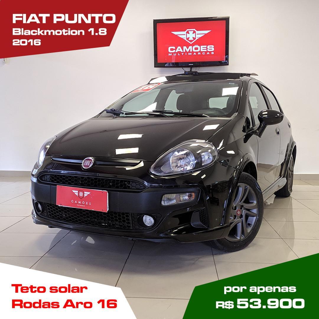 FIAT PUNTO BLACKMOTION DUAL. 1.8 FLEX 16V 5P